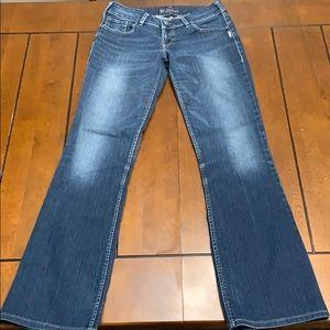 Silver suki Jeans, size 28